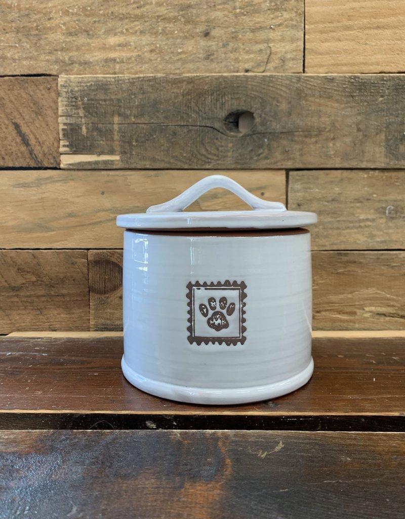 Ore Pet Ore' Ceramic Handcrafted Treat Jar