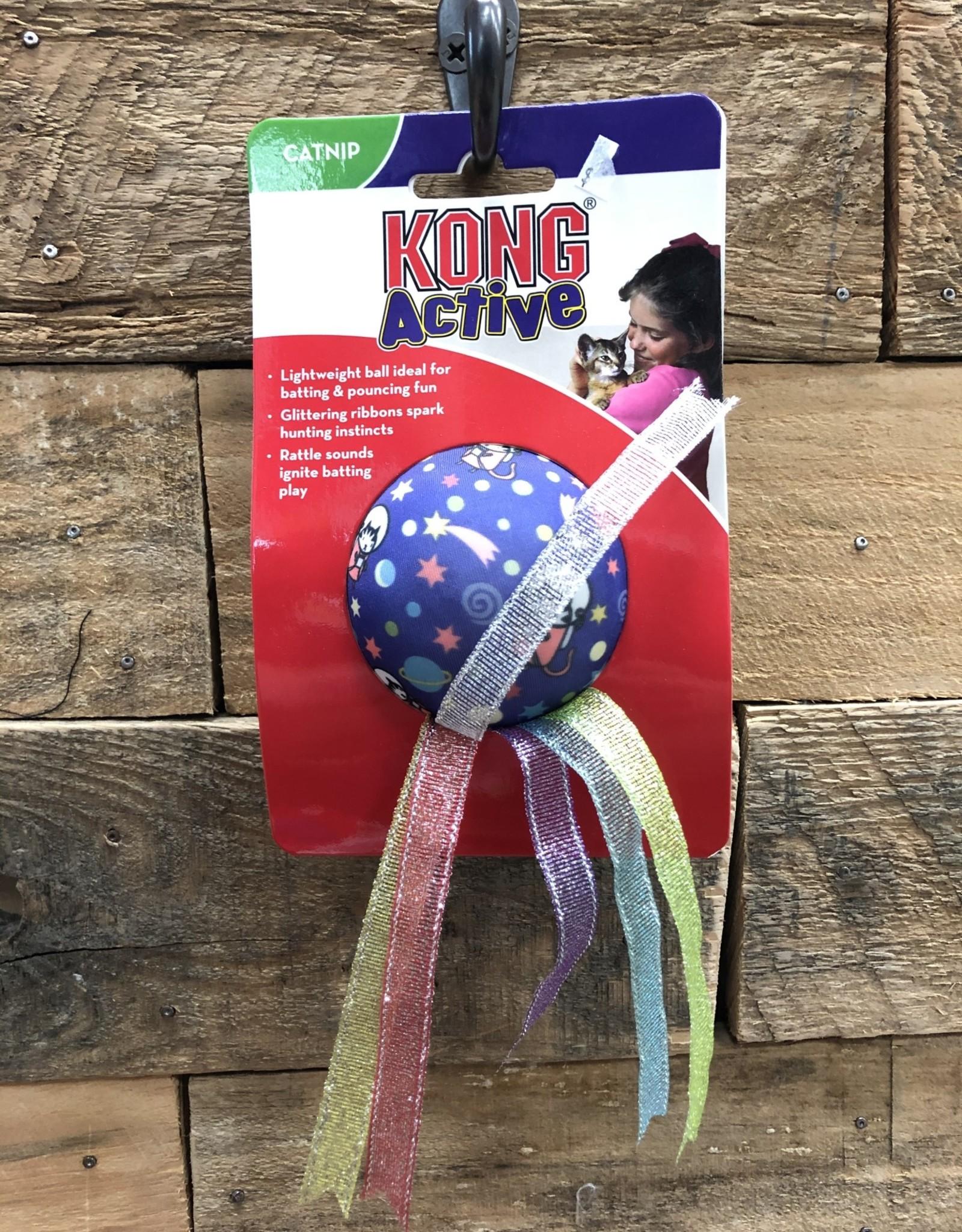 Kong Active Space Ball w/Ribbons