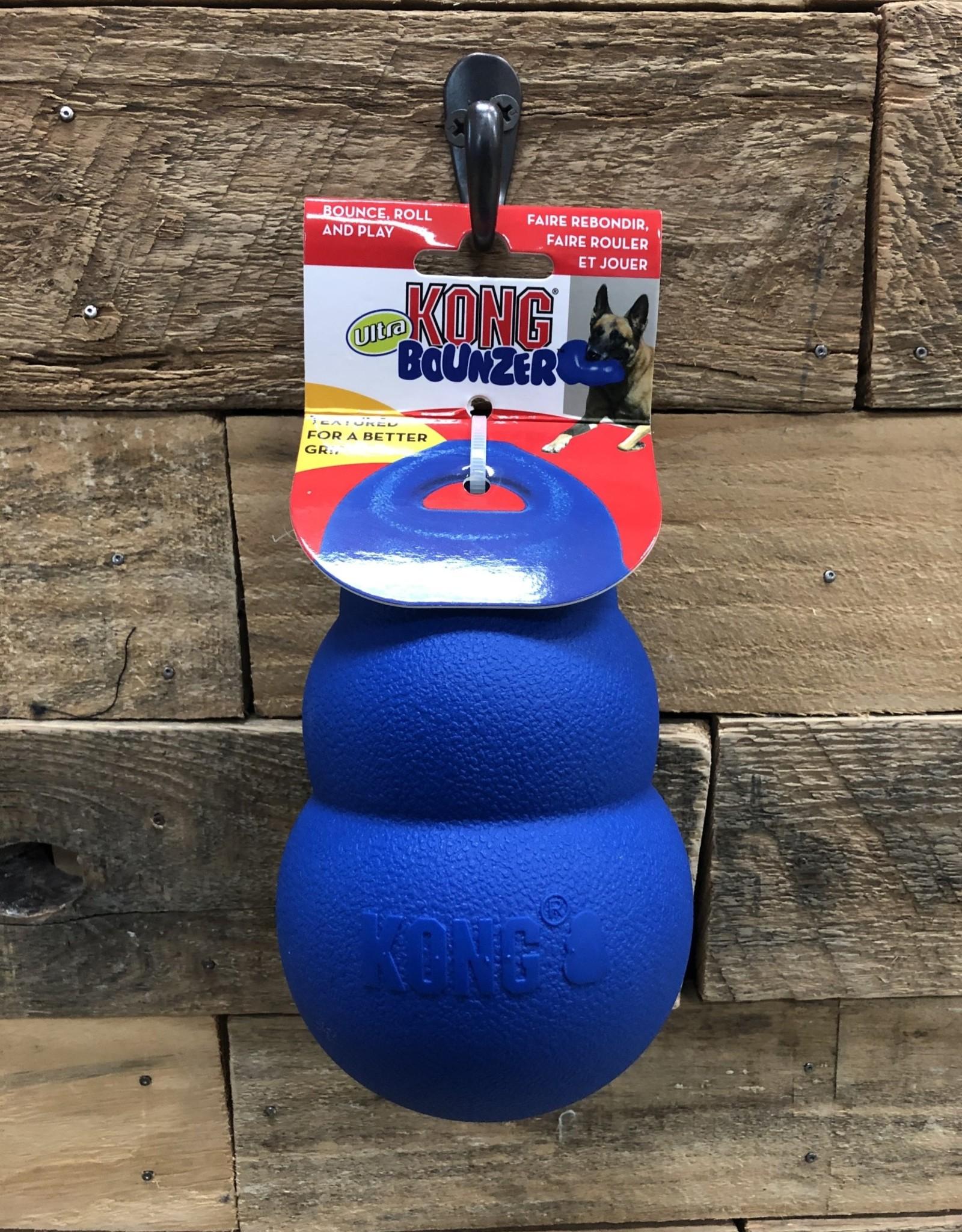 Kong Bounzer Ultra Dog Toy Blue Med