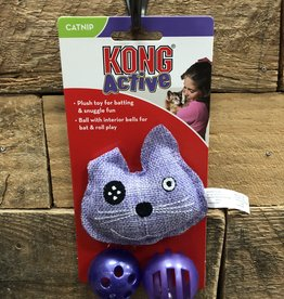 Kong Cat Active Cat Trio Cat Toy Assorted 3 Pack