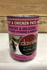 Daves Pet Food Daves NH Beef & Chicken cat 12.5oz