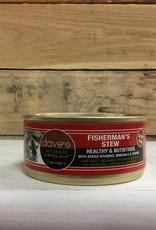 Daves Pet Food DAVES NH SHRD FISHERMN STW cat 5.5 OZ