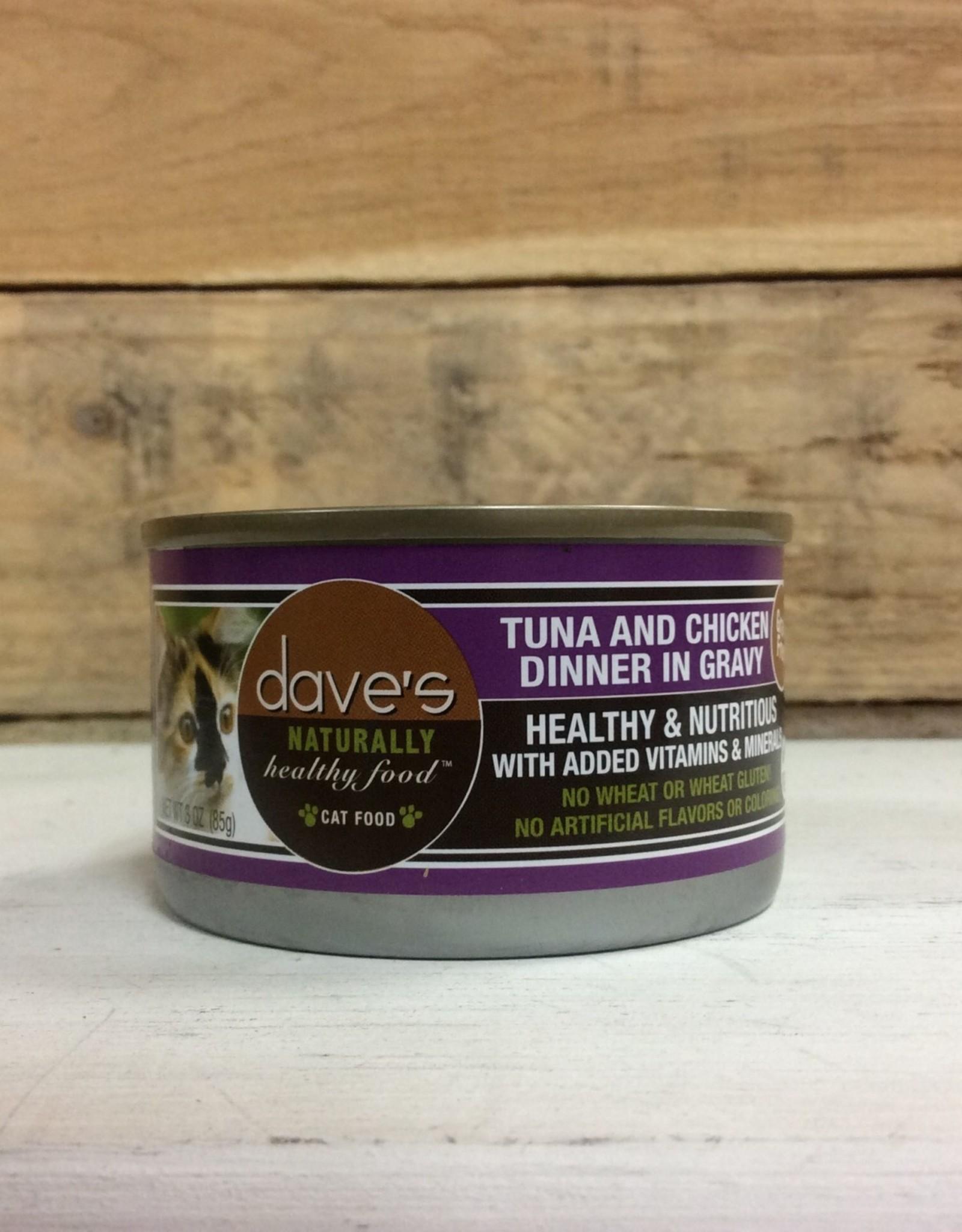 Daves Pet Food Daves NH Tuna/chicken cat 2.8oz