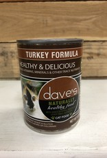 Daves Pet Food Daves NH Turkey Cat 12.5oz