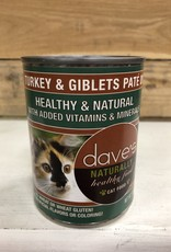 Daves Pet Food Daves NH Turkey Giblet Pate cat 12.5oz