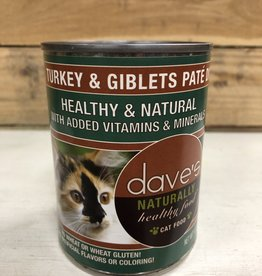 Daves Pet Food Daves NH Turkey Giblet Pate cat 12.5oz