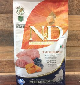 Farmina Farmina N&D pumpkin lamb med/max puppy 5.5 lb