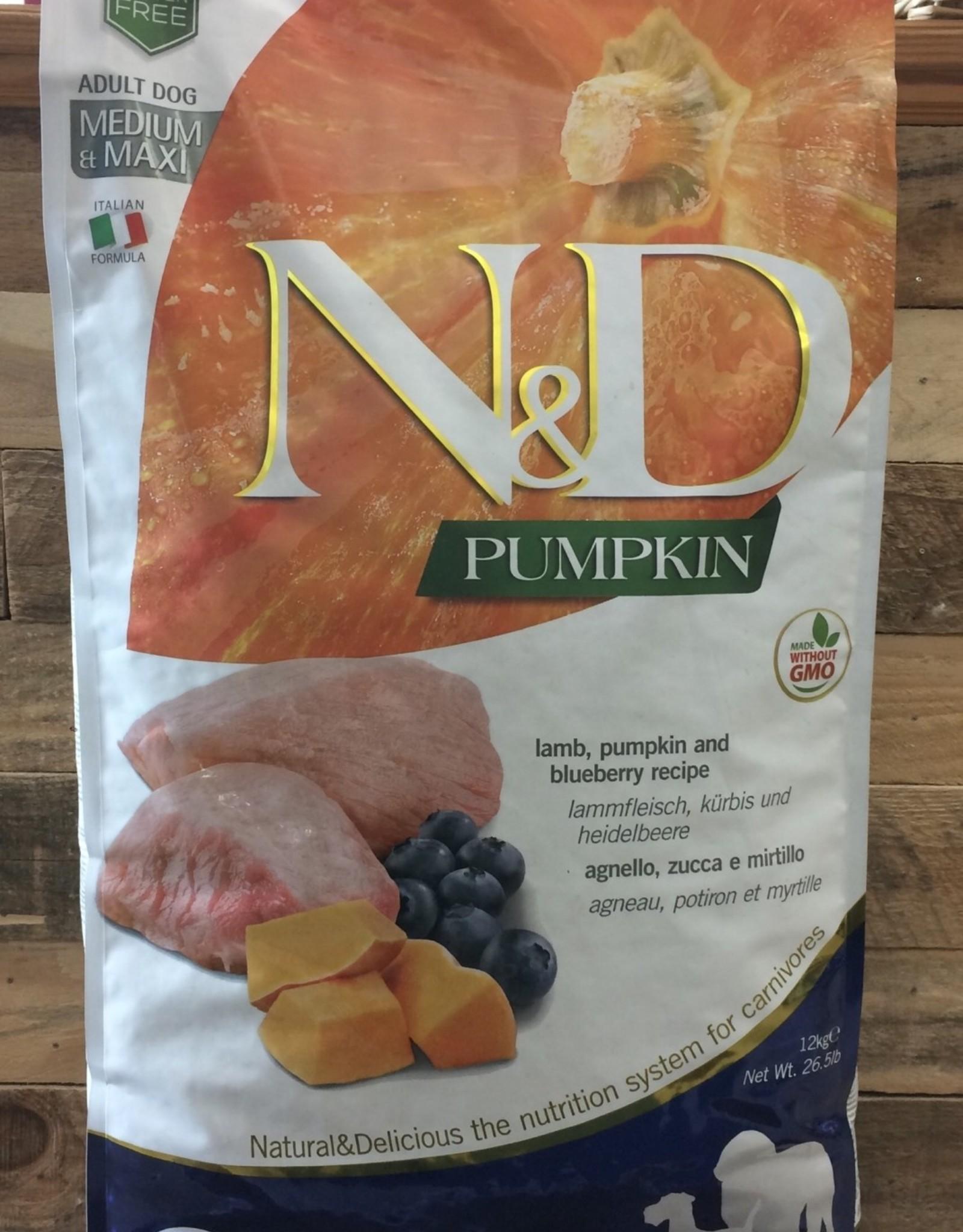 Farmina Farmina N&D pumpkin lamb adult dog 26.4 lb