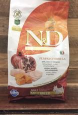 Farmina Farmina N&D pumpkin chicken mini adult dog  5.5 lb