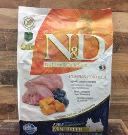 Farmina N&D pumpkin mini lamb dog 15.4#