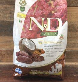 Farmina Farmina N&D Quinoa skin& coat venison dog 5.5#