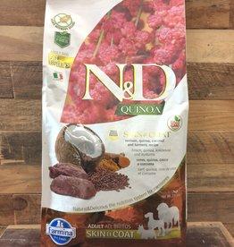 Farmina Farmina N&D Quinoa skin and coat venison dog 15.4#