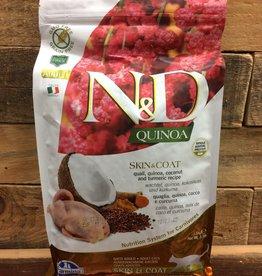 Farmina Farmina N&D Quinoa skin and coat quail cat 3.3#