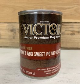 Victor Pet food victor canned dog turkey and swt pot 13oz