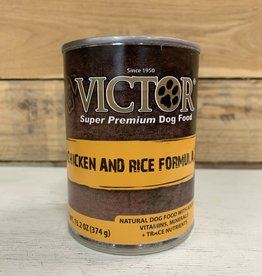 Victor Pet food victor canned dog chicken/rice 13oz