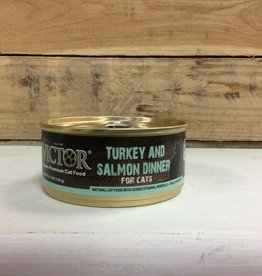 VICTOR Can Cat TURKEY/SALMON, 5.5 oz