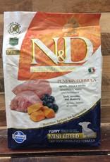 Farmina N&D pumpkin puppy mini lamb dog 15.4#
