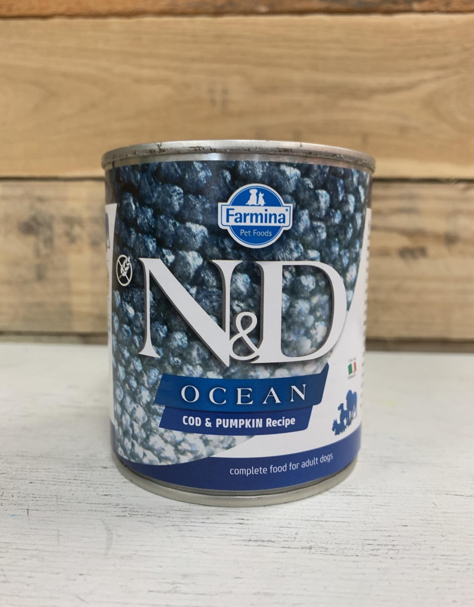 Farmina farmina N&D ocean dog pumpkin cod 10.5 oz can