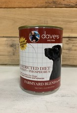 Daves Pet Food Daves Restricted diet (kidney) dog 13oz