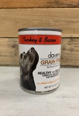 Daves Pet Food Daves GF Healthy & Delicious Turkey Bacon dog 13oz