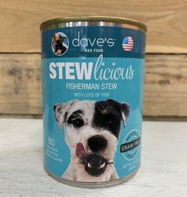 Daves Pet Food Daves Stewlicious Fisherman stew dog 13oz