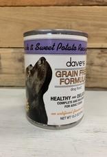 Daves Pet Food Daves GF duck & sweet pot dog 13oz
