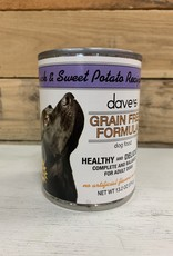 Daves Pet Food Daves GF Healthy & Delicious duck & sweet pot dog 13oz