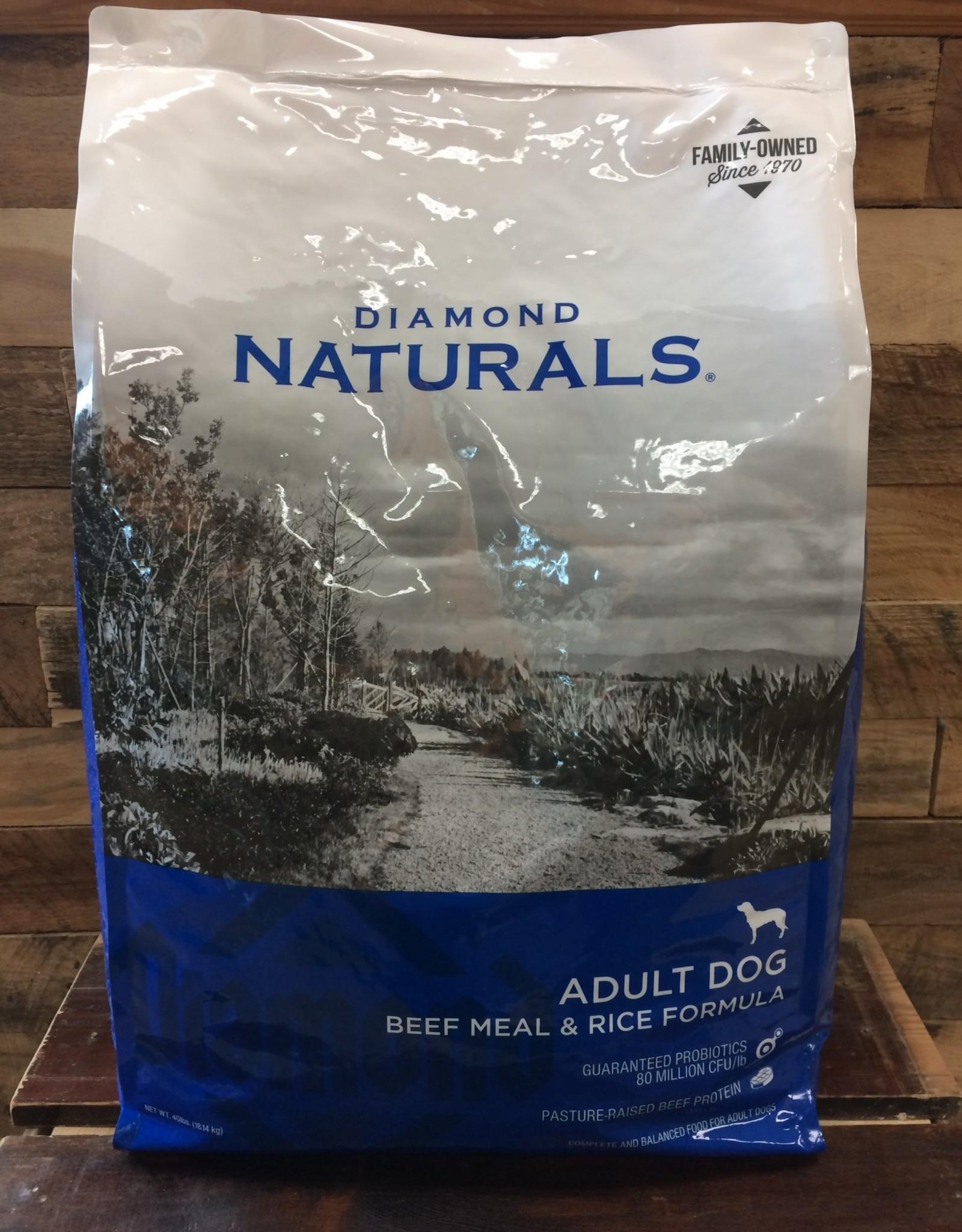Diamond Naturals Diamond Naturals Beef & rice 40#