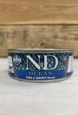 Farmina Farmina N&D Ocean tuna/Shrimp 2.8oz can cat