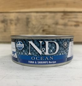Farmina Farmina N&D Ocean Tuna/Shrimp Cat 2.8oz can