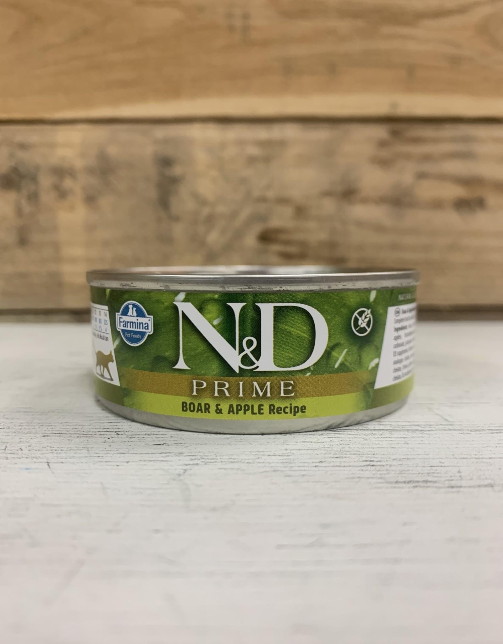 Farmina Farmina N&D Prime Boar & Apple cat 2.8oz can