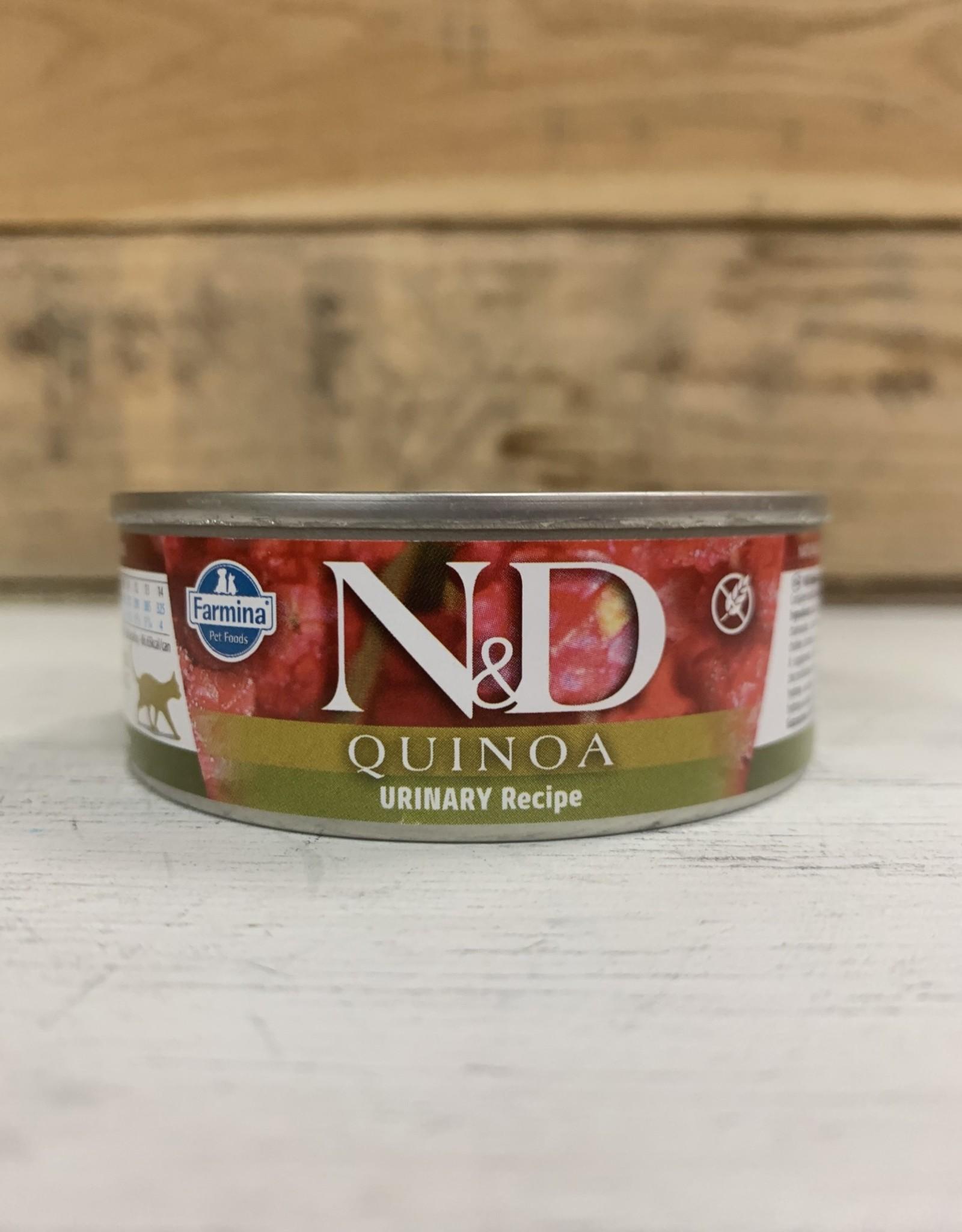 Farmina Farmina N&D Cat Quinoa Urinary Duck Can 2.8oz