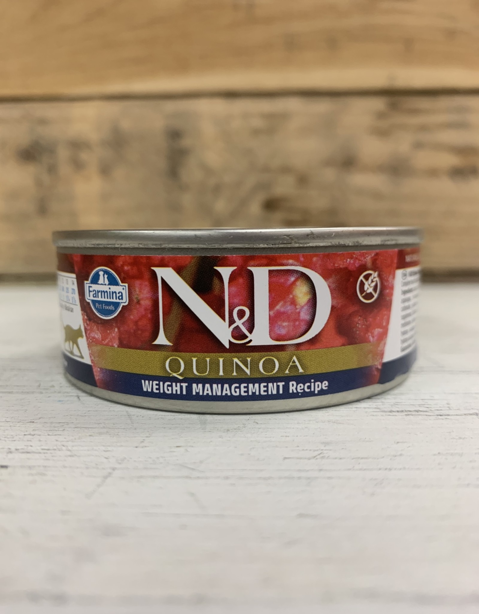 Farmina Farmina N&D cat Quinoa Weight Mgmt Lamb 2.8OZ CAN