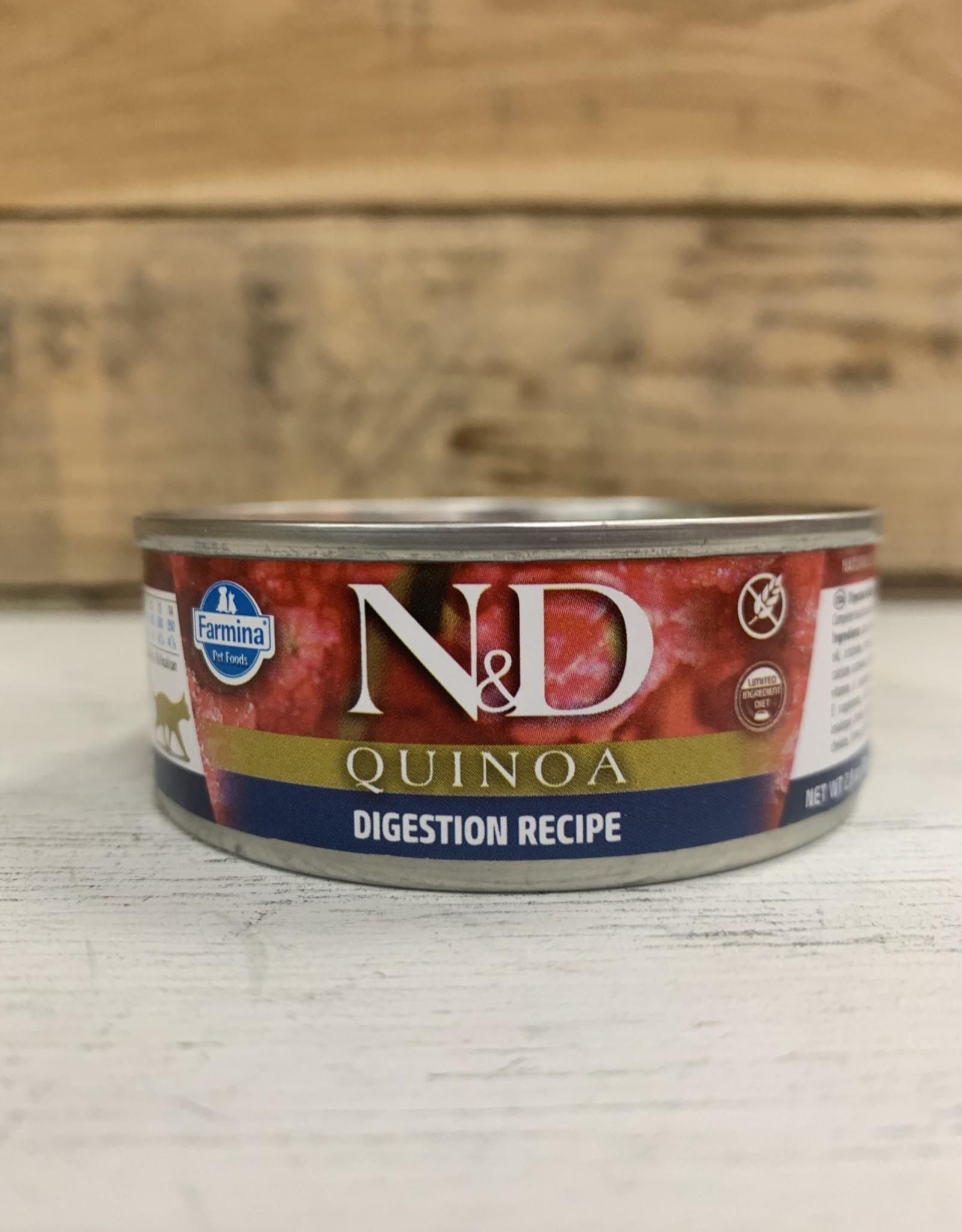 Farmina Farmina N&D cat Quinoa Digestion Lamb2.8 oz can