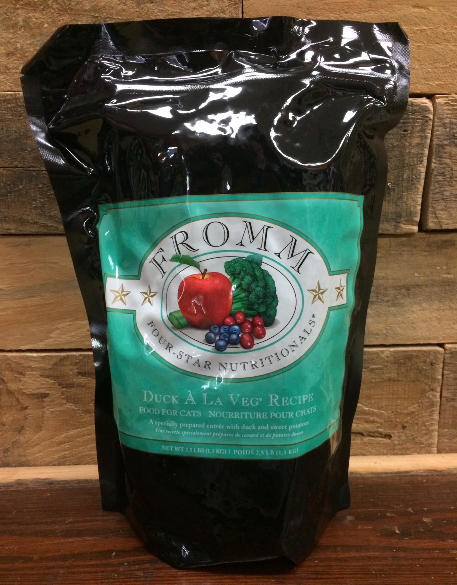 Fromm Family Foods Fromm 4star Duck A La Veg cat 2.5#