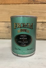 Fromm Family Foods Fromm Gold can Duck & Chicken pate dog 13oz