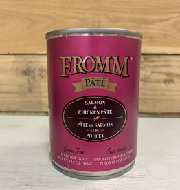 Fromm Family Foods Fromm Gold can Salmon & Chicken pate dog 13oz