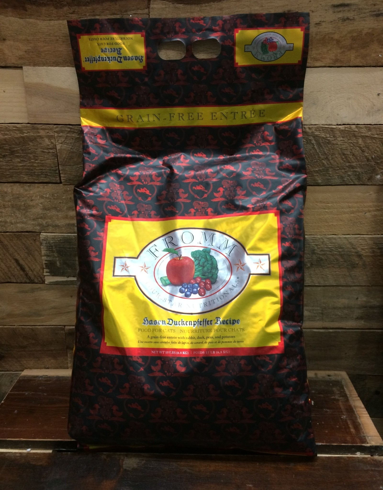 Fromm Family Foods Fromm GF 4STAR Hasen Duckenpfeffer cat 15#