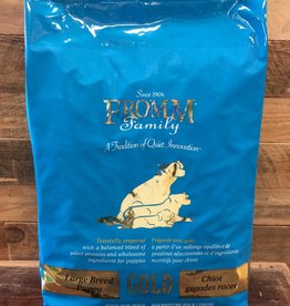 Fromm Family Foods Fromm GOLD LRG BRD PUPPY 15#