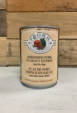 Fromm Family Foods Fromm 4Star CAN shredded pork in gravy 12oz can dog