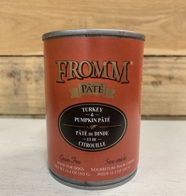 Fromm Family Foods Fromm GF Gold Turkey and Pumpkin dog 12oz can