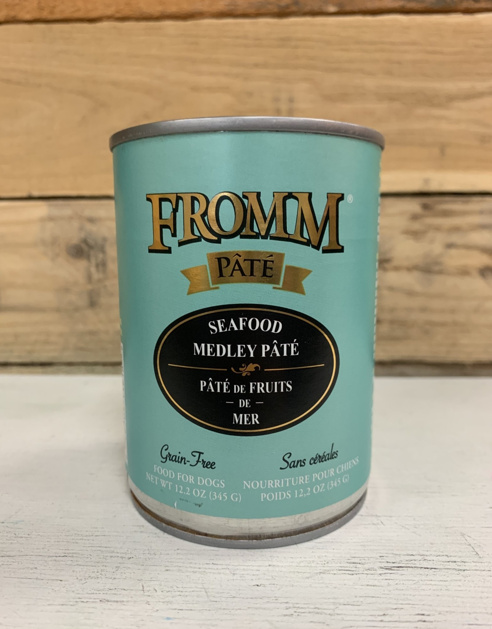 Fromm Family Foods Fromm GF Gold can Seafood Medley dog 12oz pate