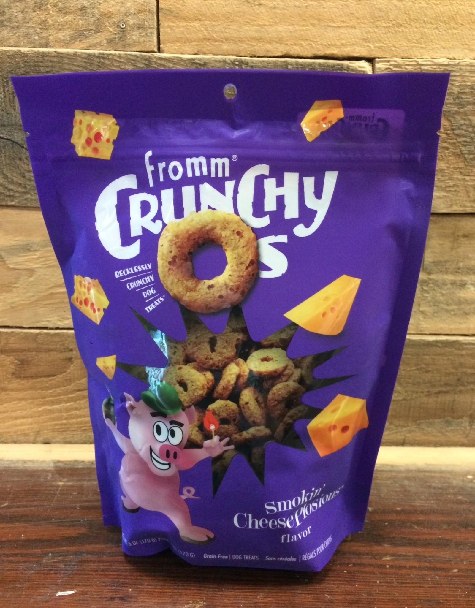 Fromm Family Foods Fromm Crunchy O's Smokin Cheeseplosions treat