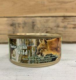 Taste of the Wild Taste of the wild feline rocky mtn can 5.5oz