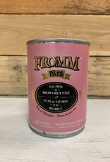 Fromm Family Foods Fromm Can Salmon & Rice Pate 12.2 oz Dog