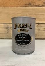 Fromm Family Foods Fromm Can Beef Chicken & Oats Pate 12.2 oz Dog