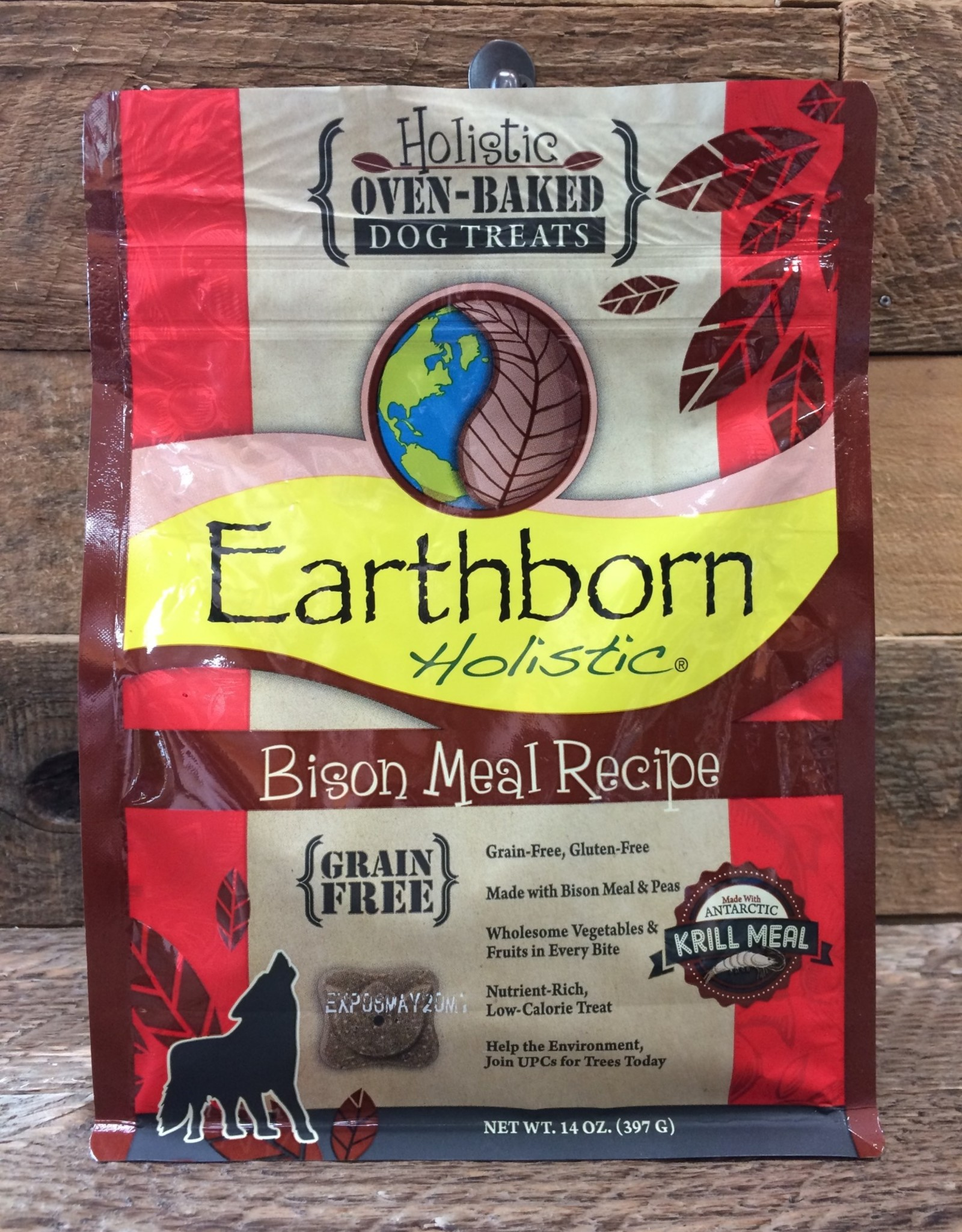 Earthborn Holistic Earthborn Bison oven baked biscuits 2#
