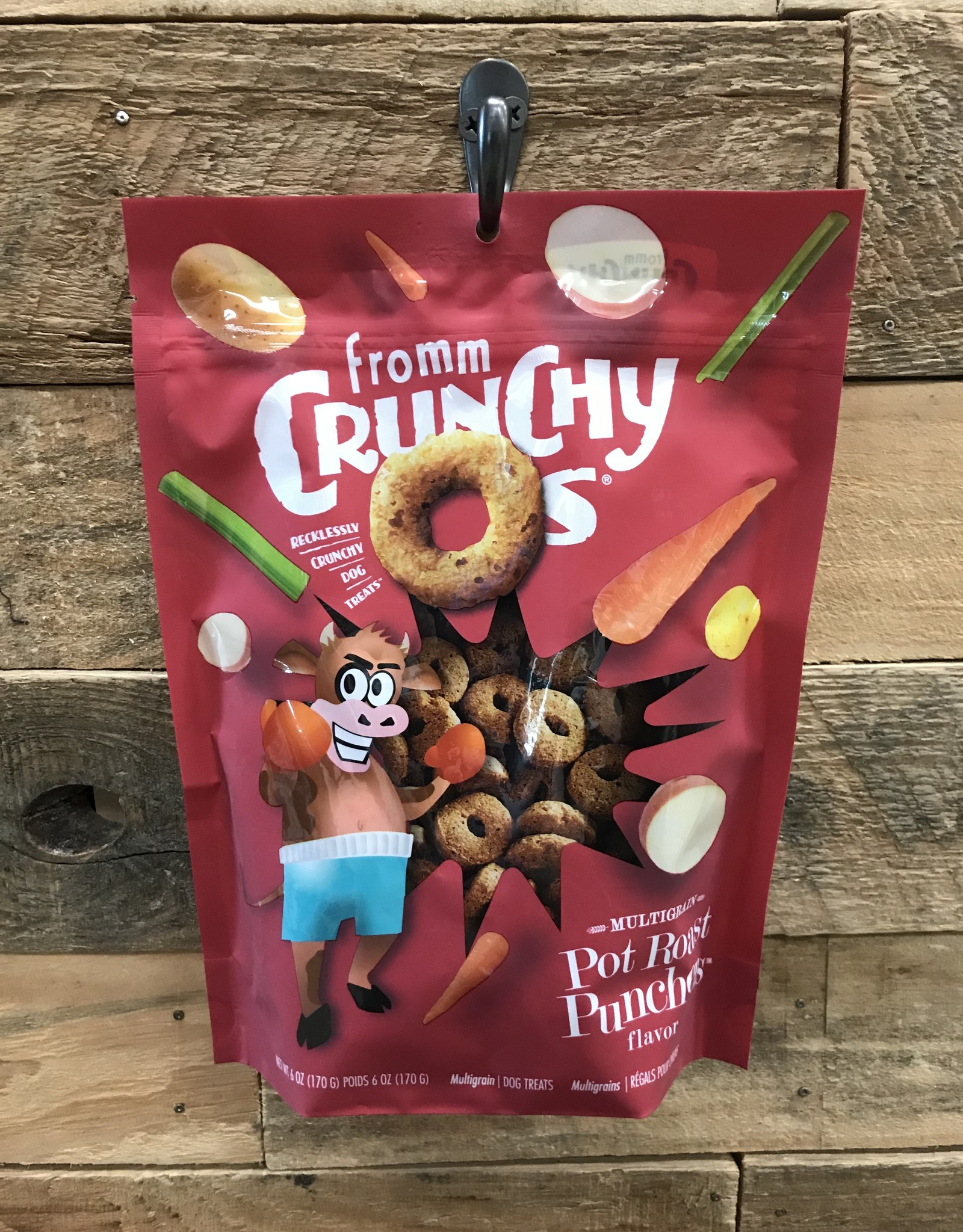 Fromm Family Foods Fromm Crunchy O's pot roast  treat