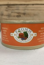 Fromm Family Foods FROMM 4STAR can CKN SMN cat 5.5OZ