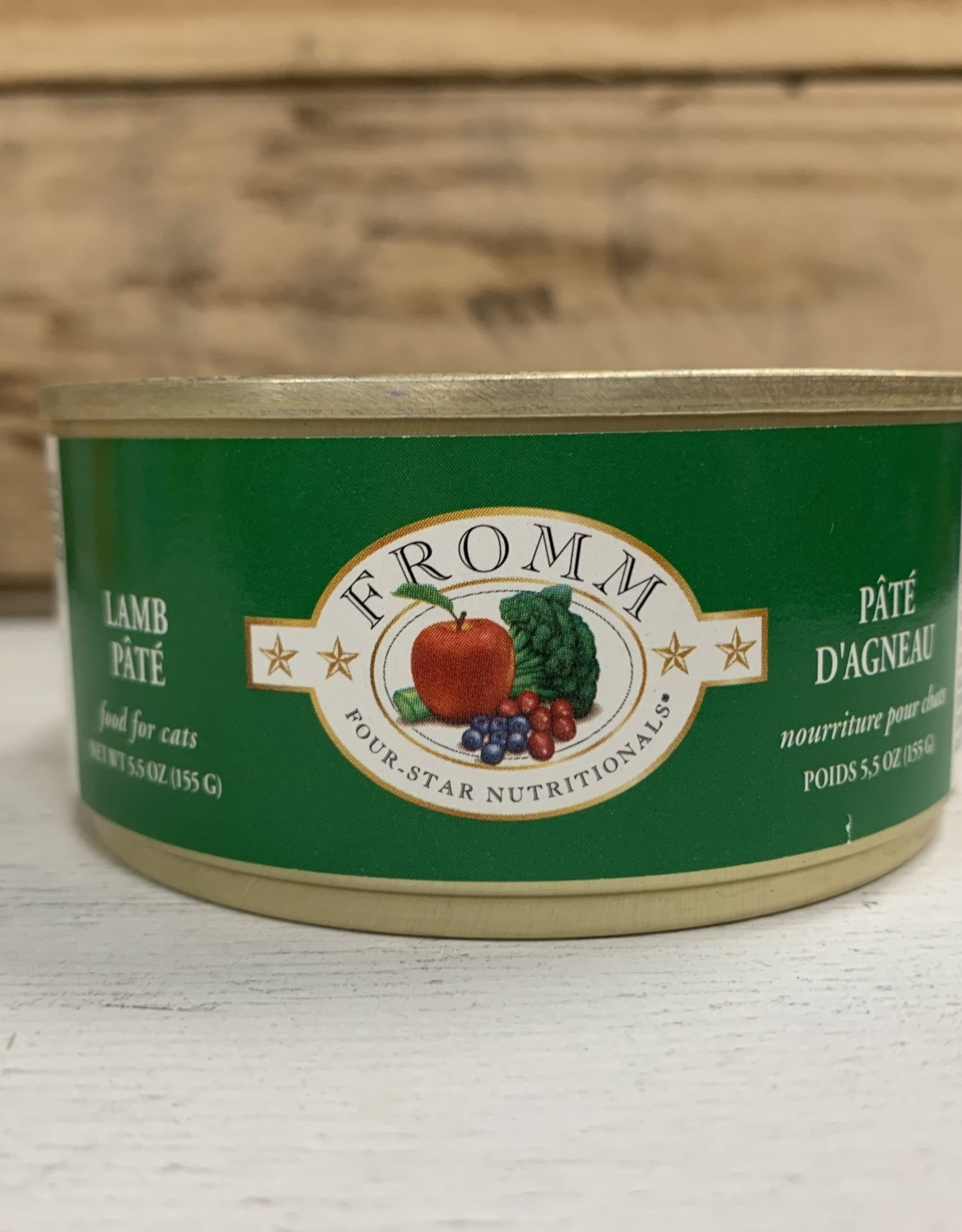 Fromm Family Foods Fromm 4star can lamb Pate cat 5.5oz